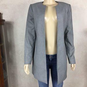 Katherine Barclay Pattern Long Suit Coat
